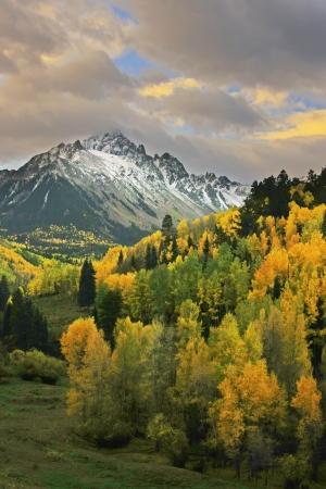 colorado landscape: Mount Sneffels Range, Colorado, USA