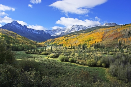 hayden: Mount Sneffels Range, Colorado, USA