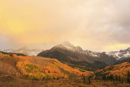Mount Sneffels, Colorado, USA photo