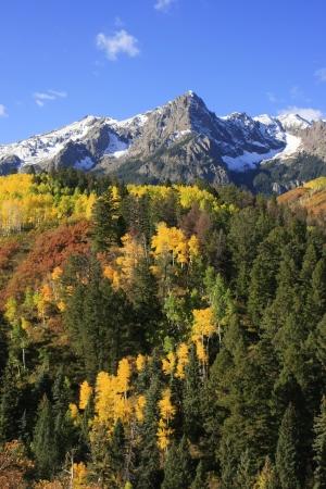 Mount Sneffels range, Colorado, USA photo