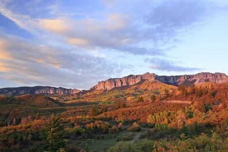 uncompahgre national forest: Cimarron Ridge, Uncompahgre National Forest, Gunnison county, Colorado, USA Stock Photo