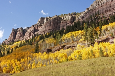 uncompahgre national forest: Scenic near Telluride, Uncompahgre National Forest, Colorado, USA