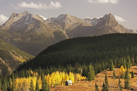Molass pass, Rio Grande National Forest, Colorado, USA photo