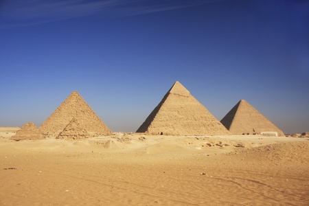 Pyramids of Giza, Cairo, Egypt photo