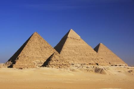 chephren: Pyramids of Giza, Cairo, Egypt