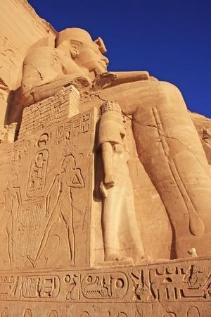 The Great temple of Abu Simbel, Nubia, Egypt photo