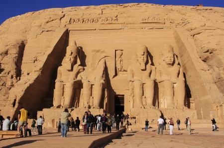 The Great temple of Abu Simbel, Nubia, Egypt