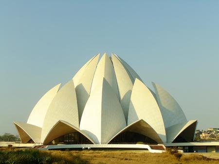 Lotus Tempel, New Delhi, India