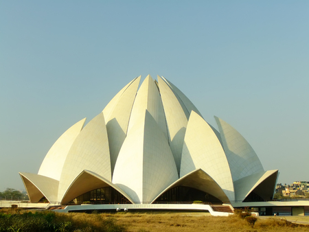 Lotus Temple, New Delhi, India photo