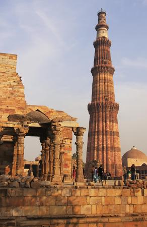 minar: Qutub Minar complex, Delhi, India Editorial
