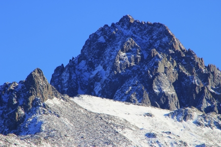 uncompahgre national forest: Mount Sneffels, Uncompahgre National Forest, Colorado, USA Stock Photo