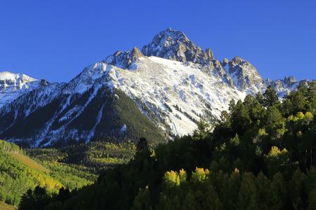 Berg Sneffels, Uncompahgre National Forest, Colorado, USA Standard-Bild