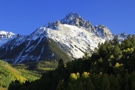 Monte Sneffels Uncompahgre National Forest, Colorado, EE.UU. Foto de archivo