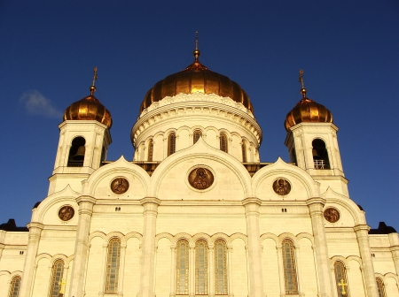 Cathedral of Christ the Saviour, Moscow, Russia photo