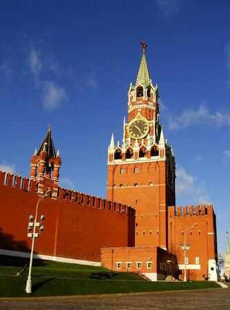 spasskaya: Spasskaya Tower, Moscow Kremlin, Russia