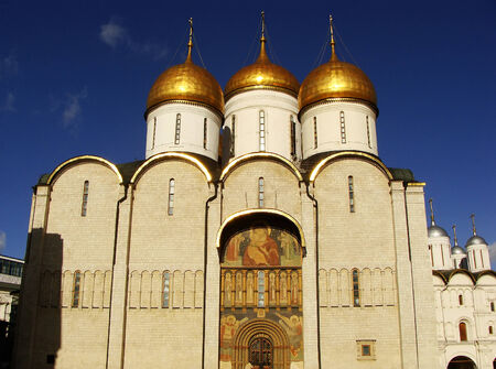Cathedral of the Dormition, Moscow Kremlin, Russia photo
