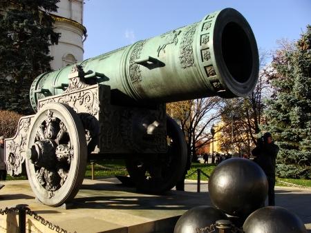Tsar Cannon, Moscow Kremlin Complex, Russia