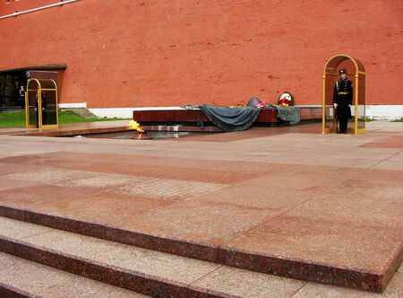 tomb of the unknown soldier: Tomb of the Unknown Soldier, Moscow, Russia Editorial