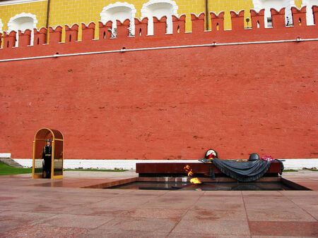 Tomb of the Unknown Soldier, Moscow, Russia