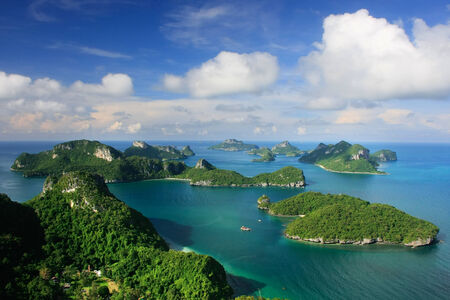 Ang Thong National Marine Park, Thailand Stock Photo - 25605988