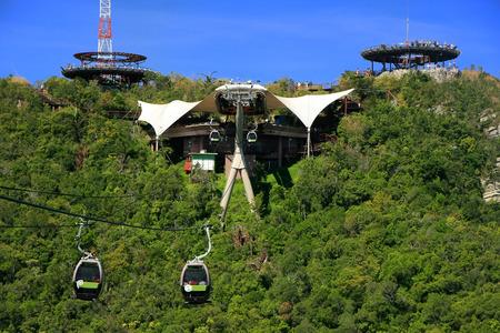 Sky Bridge cable car, Langkawi island, Malaysia, Southeast Asia