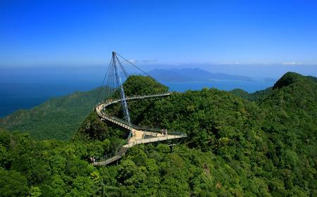 Langkawi Sky Bridge, Langkawi eiland, Maleisië, Zuid-Oost Azië