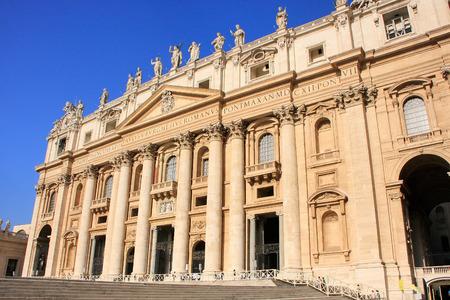 maderno: Maderno facade, Saint Peters Basilica, Vatican City, Rome