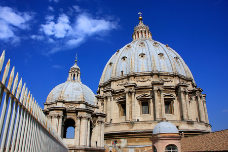 Saint Peters Basilica dome, Vatican City, Rome