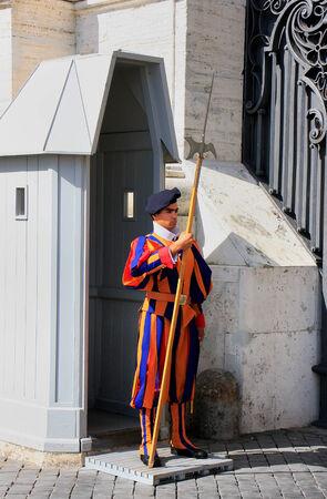 Pontifical Swiss Guard, Vatican city, Rome