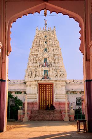 ghat: Hindu temple in Pushkar, Rajasthan, India