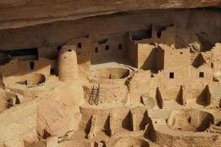 kiva: Cliff Palace, Mesa Verde National Park, Colorado, USA