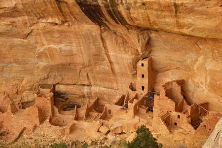 Square Tower House, Mesa Verde National Park, Colorado, USA photo