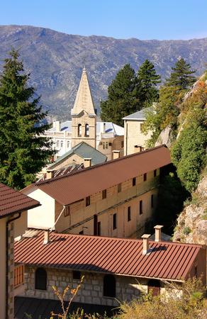 serbian: Ostrog Monastery, Montenegro, Balkans