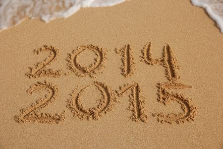 New Year 2015 begrip komt