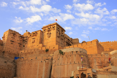 Jaisalmer fort in Rajasthan, India