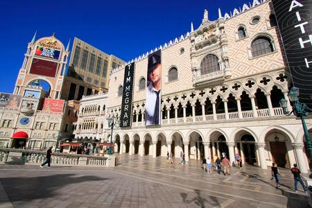 Venetian Resort hotel and casino, Las Vegas, Nevada, USA Editorial
