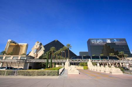 las vegas  nevada: Luxor hotel and casino in Las Vegas, Nevada, USA Editorial