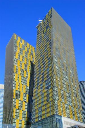 veer: Veer twin residential towers in Las Vegas, Nevada, USA
