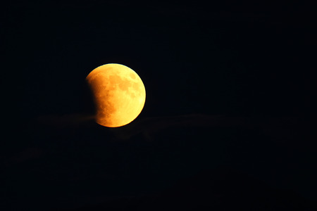 cataclysm: Total Lunar Eclipse of Supermoon on September 27, 2015 in Colorado, USA. It is the latter of two total lunar eclipses in 2015. Next total lunar eclipse will happen in 2033.