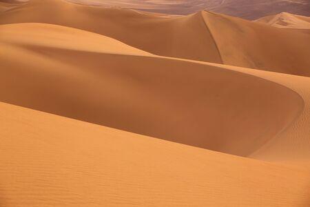 sand: Sand dunes near Huacachina in Ica region, Peru.