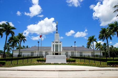 Church of Jesus Christ of Latter-day Saints on Tongatapu island in Tonga. The Church was established in Tonga in 1891.