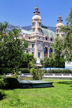 Salle Garnier - home of the Opera de Monte Carlo in Monaco. It is part of the Monte Carlo Casino.