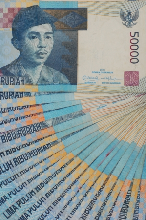 Fifty thousands of Indonesian Money photo