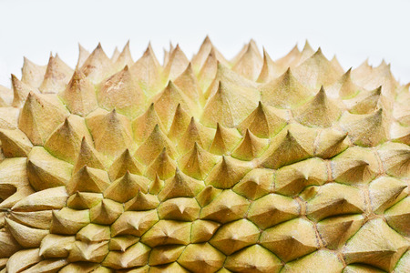 close range: Durian from close range Stock Photo