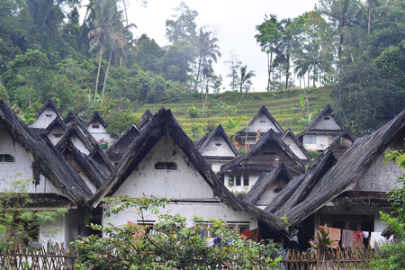kampung: Kampung Naga Village is the ancient and traditional village protected by Indonesia Law and local wisdom