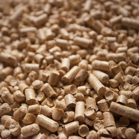 wood pellet: Pellets close-up trama di sfondo