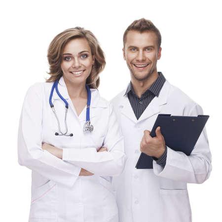 웃는 의사의 초상 스톡 콘텐츠 - 15960470