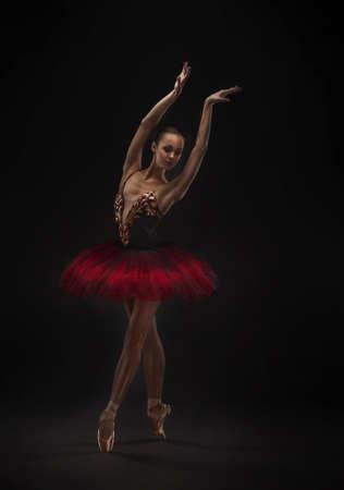 mooie balletdanser Stockfoto