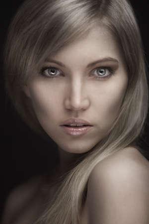 Photo of young beautiful woman Stock Photo - 16854602