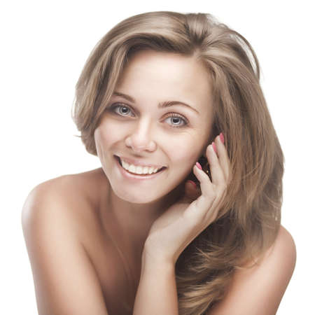 young smiling woman Stock Photo - 17480445